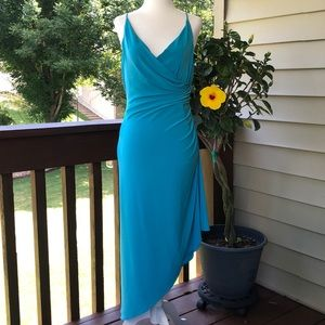 Laundry by Shelli Segal Teal Dress